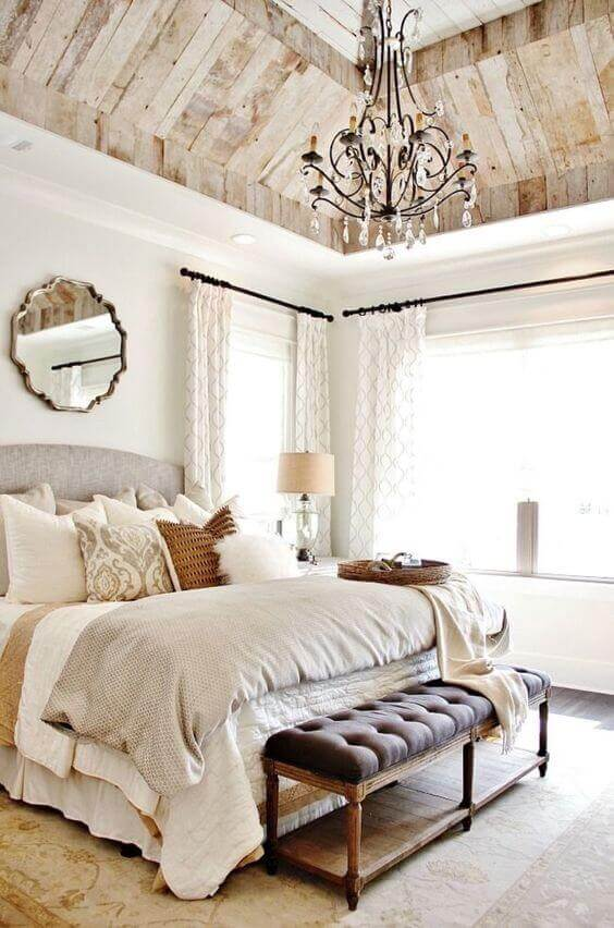 French Country Decor A Dramatic Master Bedroom - Harptimes.com