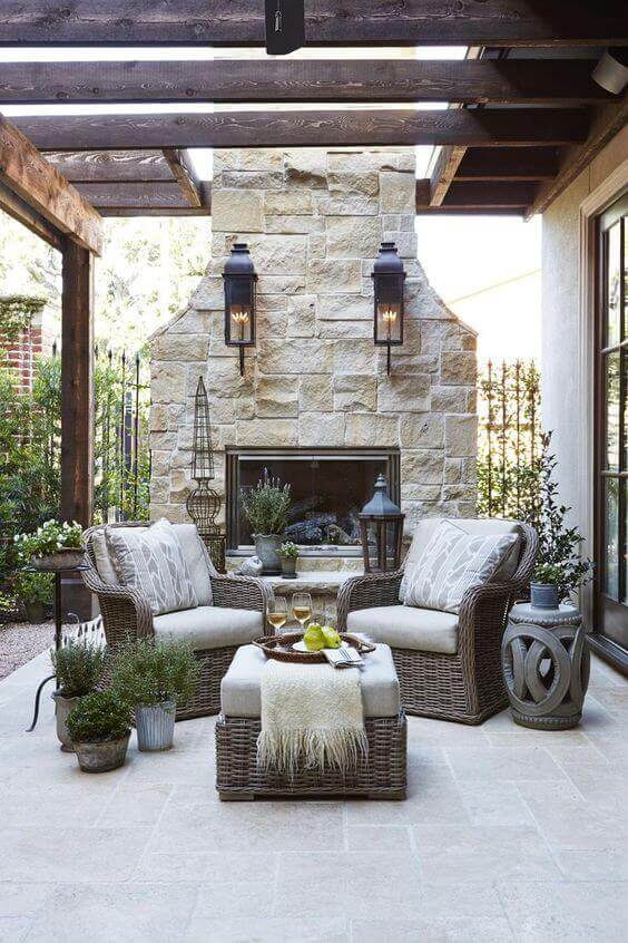 Outdoor French Country Decorating Ideas