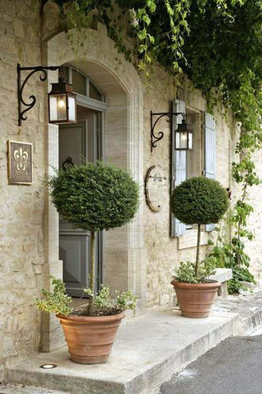 French Country Decor Cool Porch - Harptimes.com