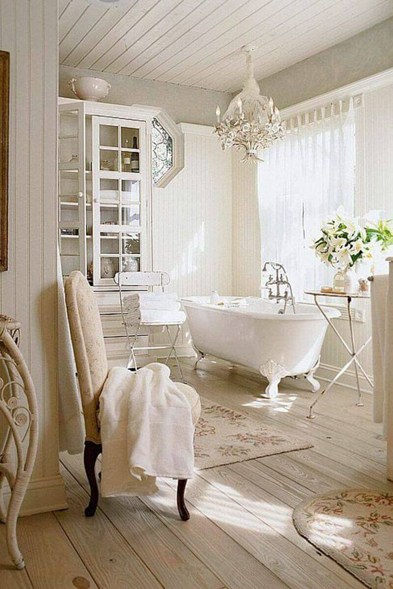 French Country Decor Indulge Yourself in An Elegant Bathroom - Harptimes.com