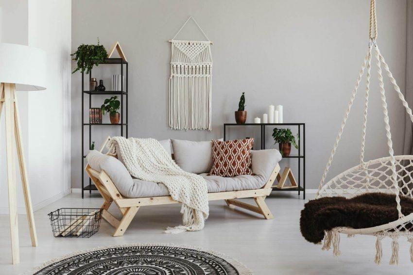 Boho Grey Living Room Ideas