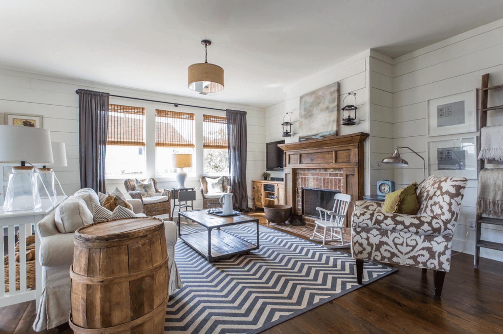 Grey Farmhouse Living Room Ideas