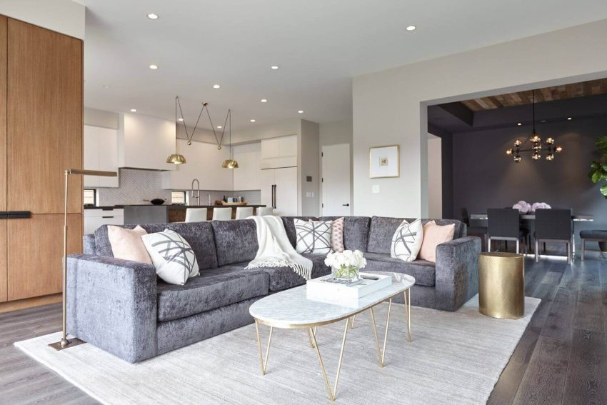 Grey Sectional Living Room Ideas