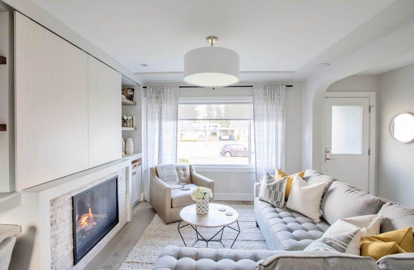 Mellow Grey Living Room Ideas