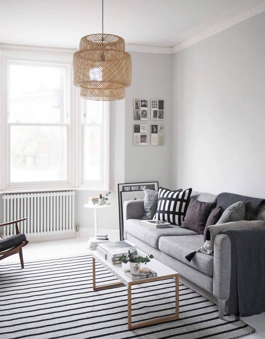 Scandinavian Grey Living Room Ideas